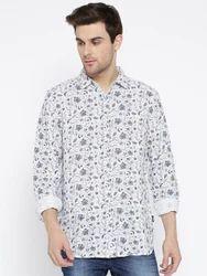 Men's Solid Casual Shirt