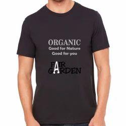 Organic Cotton Men's Printed Half Sleeves T-Shirt
