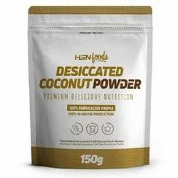 HSN Foods Desiccated Coconut Powder, Packaging Size: 150 Grams