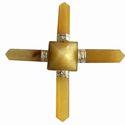 Yellow Aventurine Pyramid Energy Generator, For Healing