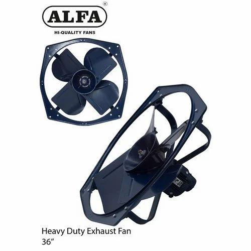 Alfa Three Phase 36 Heavy Duty Exhaust Fan Iii Phase
