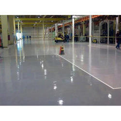 Commercial Building Sika Epoxy PU Flooring Service, in Gujrat