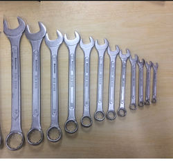 Combination Spanner (Cold Stamped with Knurling) 12 Pcs Set