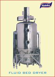 RIDDHI Fluid Bed Dryer, Batch Size: 30 -500 Kgs, 440 Volts