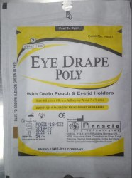 Eye Drape Poly, C. NO :P0601