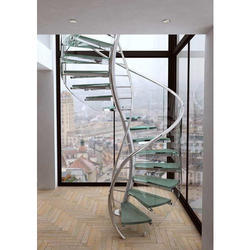 Stainless Steel Staircase - SS Staircase Latest Price