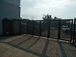 Stainless Steel Automatic Curve Sliding Gate