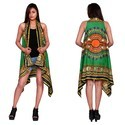 Dashiki Printed Cotton Kimono Shrug