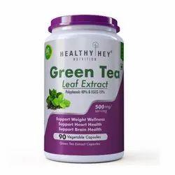 Green Tea Extract Brain Health Capsules, Packaging Type: Plastic Jar