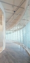 Oval Glass Partition