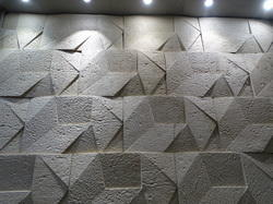 Natural Handmade Stone Wall