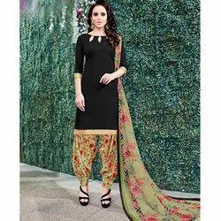 Plain Patiala Suit