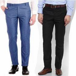 Formal Wear Men Slim Fit Cotton Trouser