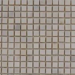 Capstona Stone Mosaics White Pearl Tiles