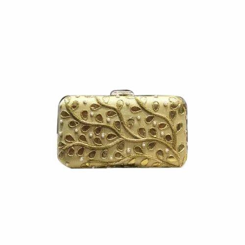 f6c9aee0275 Golden Fancy Clutch Bag, Rs 500 /piece, Siri Bags LLP | ID: 8754056297