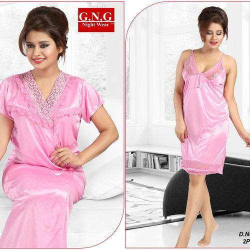2 Piece Bridal Nighty 7b66b3bd7
