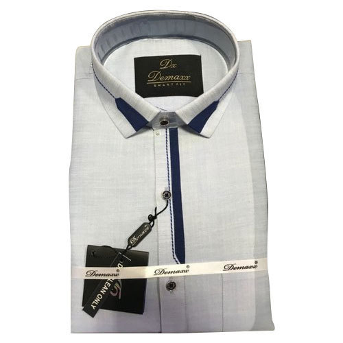 23e6c881207 Mens Cotton White Designer Shirt