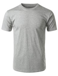 Cotton White Plain T Shirt