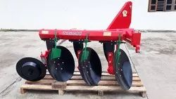 Graded Farm Implement Tractor Mounted Soil Tilling Disc Plough