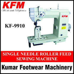 Semi-Automatic Single Needle Roller Feed Sewing Machine, 0.25