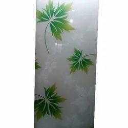 Leaves Digital Print Glass