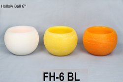 Ball 6 Full Hollow Candle