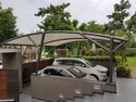 FRP Car Parking Shed