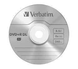 graphic relating to Verbatim Cd R Printable identify Verbatim DVD R DL INKJET PRINTABLE 10DISC PACK