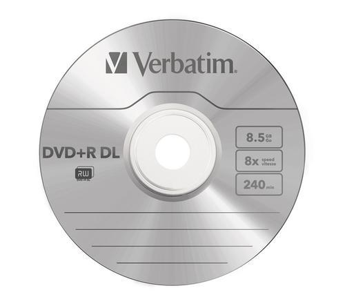 picture regarding Ink Jet Printable Dvd identified as Verbatim Dvd R Dl Inkjet Printable 10disc Pack
