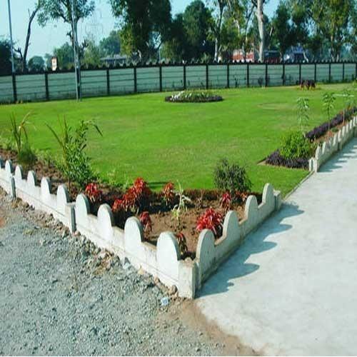 RCC Garden Curbing, Usage: Pavement