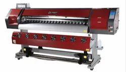 6 Ft Double Head Option Bossron Ecosolvent Printer