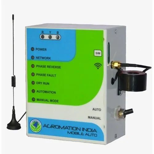 agromation india 30 amps three phase mobile auto switch