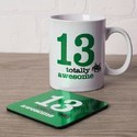 Corporate Gift Set Mug With Tea Coaster Set