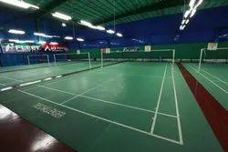 PVC Badminton Court Flooring Service