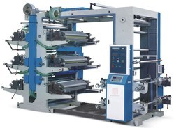 Roll to Roll Flexographic printing Machine