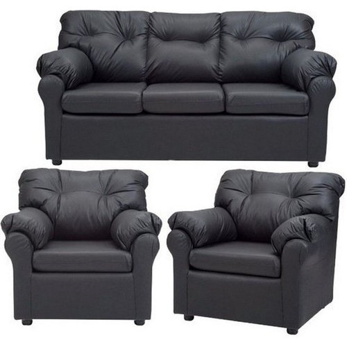 Black Sofa Set