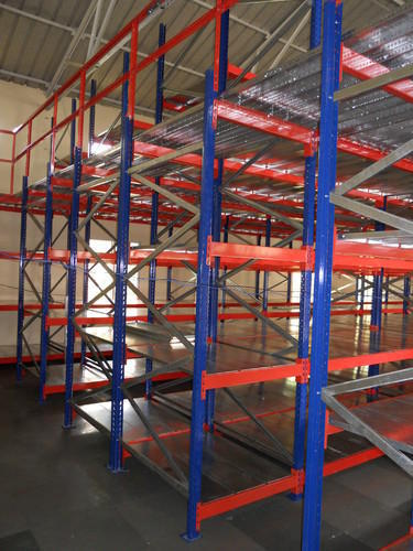 warehouse shelving racks storage capacity 500 kg rs 15000 unit rh indiamart com warehouse pallet racks warehouse shelving racks for sale