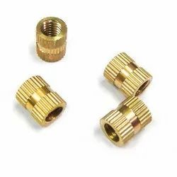 Citizen Golden Brass Moulding Insert, For Hardware Fitting, Size: 0.5 Inch To 8 Inch