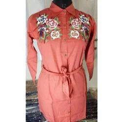 Ladies Orange Robe