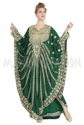 Designer Wear Kaftan Dress  For Ladies