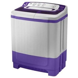 Samsung 8.5 kg Semi Automatic Top Load Washing Machine, WT85M4200HB/TL, Light Grey & Purple