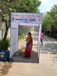 SA-08-20 Semi Automatic Disinfection Tunnel