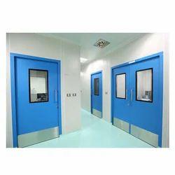 Airklenz Stainless Steel Clean Room Doors, For Hospitals