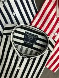 Peach Carbon Lining Regular Fit Premium Shirts, Size: S To XXL