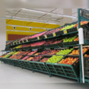 Inclined Fruits and Vegetables Racks