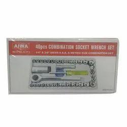 AIWA 40pcs Combination Socket Wrench Set