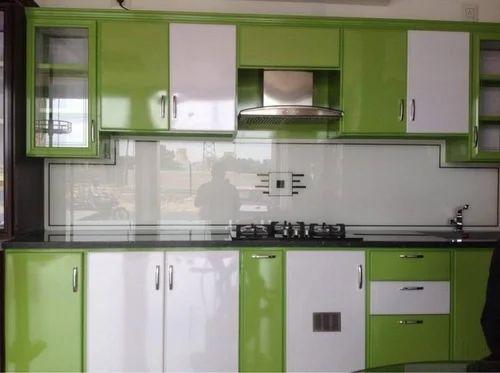 Aluminium Modular Kitchen एल य म न यम म ड य लर