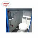 Roto Molded HDPE Porta Loo Western Portable Mobile Toilet