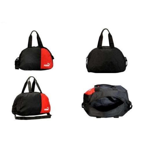 Red and Black Puma Duffle Bag
