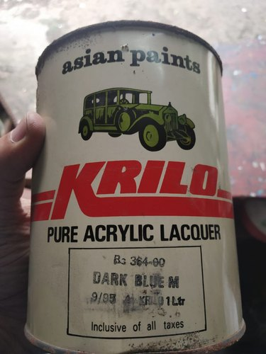 Asian Paints Krilo Pure Acrylic Lacquer Dark Blue